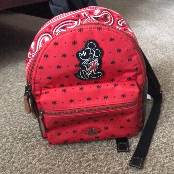 9cf600e31c2 ... best coach disney mickey nylon backpack f72f1 602c4
